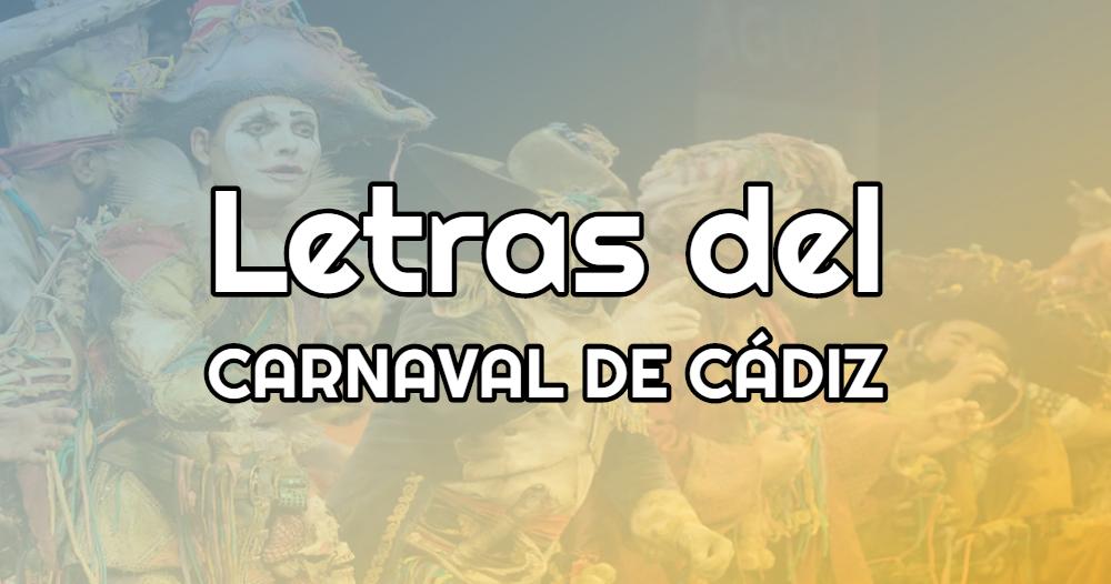 Las Mejores Letras Del Carnaval De Cádiz Vídeos