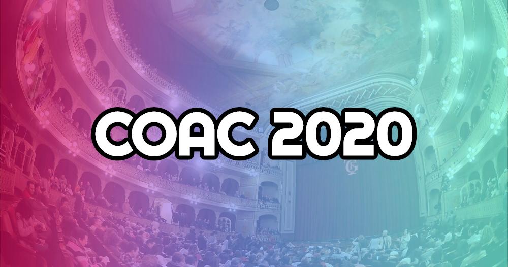 Calendario Coac 2019.Coac 2020 Toda La Informacion Agrupaciones Entradas Y Fechas