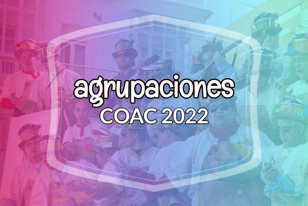 agrupaciones coac 2022
